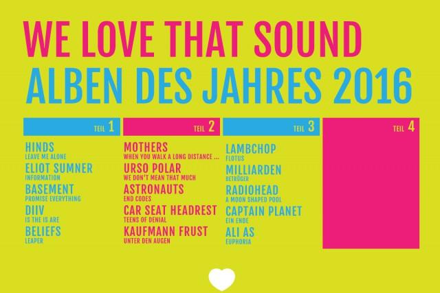 Die besten Alben 2016: Teil 3/4